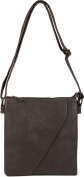 styleBREAKER Women's Cross-Body Bag grey dark grey One Size