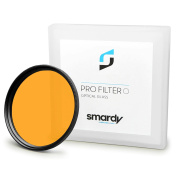 smardy Orange Colour Filter 49 mm for Sony Alpha 3000 | Alpha 7R | NEX-3 | NEX-5 | NEX-5N | NEX-5R | NEX-7 | NEX-C3 | NEX-F3 and more