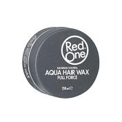 RED ONE AQUA HAIR WAX FULL FORCE MAXIMUM CONTROL GREY - 150ML