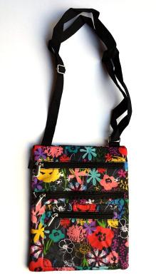 Notebook Tablet Carrying Case Cross Body Handbag Purse