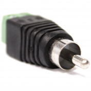 Cablematic - RCA Adapter male to terminal block