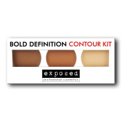 Exposed Bold Definition CONTOUR KIT Bronzing Contouring Highlighting Makeup Palette