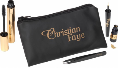 CHRISTIAN FAYE Eye Make-up gift set Celebration Eyes (Mascara and Eye Liner )