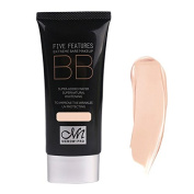 BB Cream - M.N UV protection Moisturising BB Cream 50ml Makeup Cosmetic Foundation Supernatural Hydrating Face Care 77g whitening£¨05£©