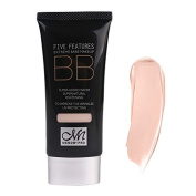 BB Cream - M.N UV protection Moisturising BB Cream 50ml Makeup Cosmetic Foundation Supernatural Hydrating Face Care 77g whitening£¨01£©