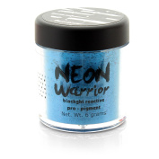 Medusa's Make Up Body Paint Neon Warrior Flo Blue