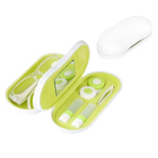 Balvi - Twin eyeglasses and contact lenses case with built-in mirror. Includes contact lenses case, two flasks for liquids and tweezers.