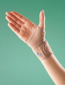 SDA Adjustable COMPRESSION MEDICAL WRIST WRAP SUPPORT with THUMB LOOP Strap by OPPO - Carpal Tunnel Brace - Sprain - Wrist Joint - Arthritis / Thermal Heat Bandage / Prevent Strain / Gym Brace / Injury Protection & Rehabilitation