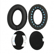 Replacement Earpad Cushion, Skitic Memory Foam Ear Cups Ear Pads Repair for BOSE Quietcomfort 2 QC2, Quietcomfort 15 QC15, Quietcomfort 25 QC25, Ae2, Ae2i , Ae2w Headphones