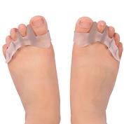 Gel Toe Separators & Toe Correctors for Dancers,Yogis & Athletes,Treatment for Bunions Relief,Hammer Toe,Hallux Valgus
