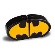 Batman Logo Salt and Pepper Shakers Ceramic Black