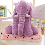 Missley Big Elephant Cushion Cute elephant pillow 100% cotton Novelty plush soft toy for decoration gifts for kids Size L