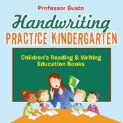 Handwriting Practice Kindergarten