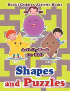 Shapes and Puzzles Activity Book for Kids