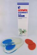 Gehwol Fusskraft® Blue for Dry Rough Skin Foot Cream Moisturising and Naturally Fresh 125ml Tube *PLUS FREE PAIR OF HEEL GEL PADS*