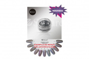 Graphite Shimmer Nymph Effect Glitter Powder Nail Art