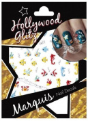 Nail Art Decals Stickers Transfers Fish Seahorses Etc Hollywood Glitz Marquis