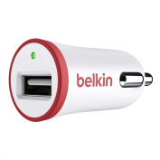 Belkin BOOSTUP 2.4A USB Car Charger - Red