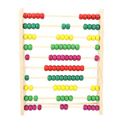 Demiawaking Wooden Abacus Children Kids Counting Number Maths Educational Toys