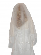 Shop Ginger Wedding Womens 2T Fingertip Crystal Bridal Veil
