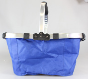 Grocery Basket - TOOGOO(R)Waterproof Foldable Eco-friendly Reusable Shopping Bag Grocery Basket Blue