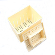 Ketobk Diy Food-Grade Plastic Tofu Press-Maker Moulds Box Homemade Soybean Curd Making Moulds Kitchen Cooking Tools Accessories