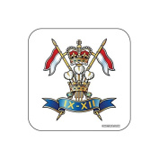 """""""9th / 12th Royal Lancers"""" UK MILITARY Coaster - British Forces Themed Design"""