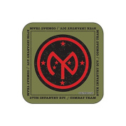 """27th Infantry Division"" US MILITARY Coaster - American Armed Forces Themed Design"