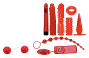 Orion Red Roses 560936 Sex Toy Set 9 Pieces