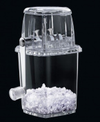 Transparent Manual Plastic Ice Crusher - Great for Cocktails, Slush for the kids - by MisterChef®