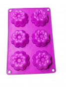 ARSUK® Silicon Baking Mould Flower Shape Design Cake Moulds Decoration Baking Mould