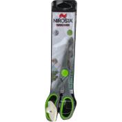 "Nirosta ""Praktika"" Super Scissors with Opener, Stainless Steel, Grey/Green, 21 cm"