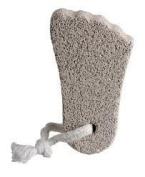 FOOT SHAPE Pumice Stone . . Health Foot Care Pedicure Exfoliate Chiropody Treatment BODY HAND FEET SCRUBBER DEAD SKIN EXFOLIATOR