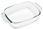 500 ° 433661 Clear Glass Rectangular Dish 27 x 17 cm/1.4 Litres