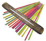 Incense Holder - Fair Trade Elephant Gifts Incense Stick Holders with Incense Sticks - Hand Crafted and Ethically Sourced