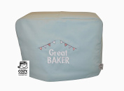 CozyCoverUp® Food Mixer Dust Cover for Kitchenaid 4.8L 4.7l Artisan Duck Egg Green Embroidered GREAT BAKER!