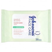 Johnson's Make Up Be Gone Clear Skin Wipes 25 per pack