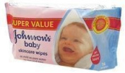 JOHNSONS BABY SKINCARE WIPES 56 WIPES (139500) - 56 WIPES X 6