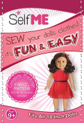 Pattern and Fabric for 46cm Doll Dress. Selfme kids crafts project!!