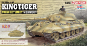 Dragon 1/35 SD.KFZ.182 Kingtiger Porsche Zimerit # 6848