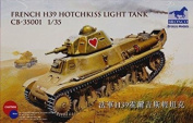 Bronco Models CB35001 - Model Kit French 39 Hot Chkiss Light Tank