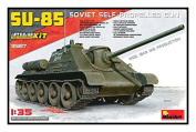 Mini Art 35187 Mid Production Model Kit Su 85 Mod. 1943