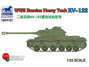 Bronco Models CB35122 Model Kit WWII Russian Heavy Tank Kv ""