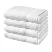 4 luxury egyptian cotton bath sheets - white