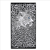 Haodasi Absorbent Microfiber Travel Beach Towels Printed Quick Dry Bath 100*180cm 450 Panthers