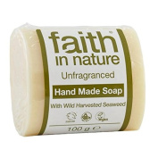 Faith in Nature Unfragranced Pure Hand Made Soap 100g