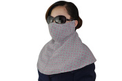 Unisex Winter Warm Dotted Cotton Scarf Face Mask Earmuff for Cold-proof Wind-proof Dust-proof