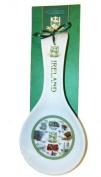Irish Pictorial Ceramic Spoon Rest