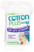 Cotton Plus Faldine Makeup with 2 in 1 Cleansing Milk Maxi-Pack of 50)