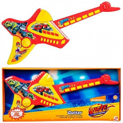 Blaze And The Monster Machines Deluxe Childrens Kids Electronic Guitar Musical Instrument Childs Game Toy